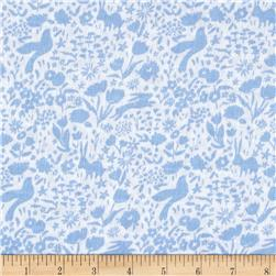 Michael Miller Sommer Double Gauze Shadow Garden Blue