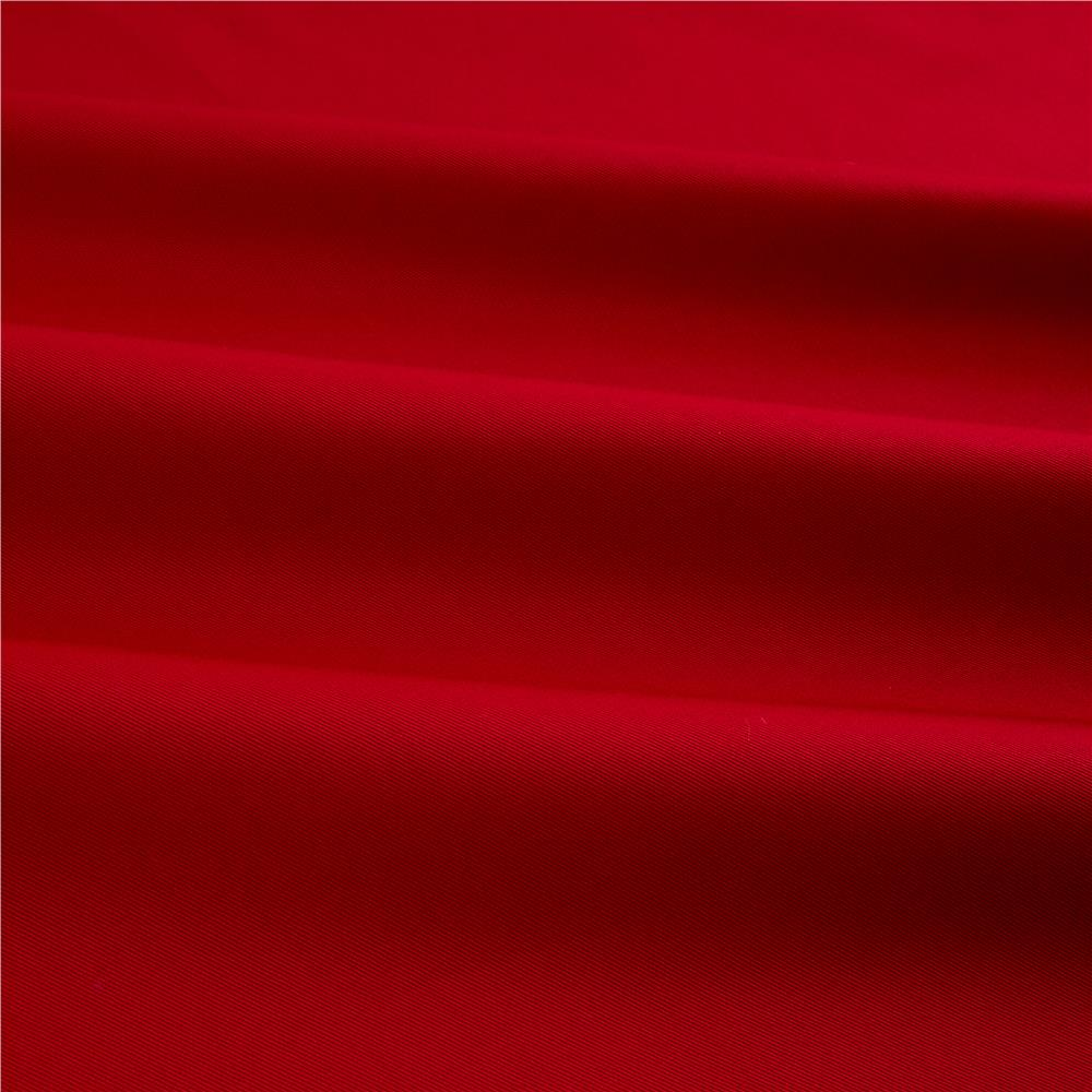 Poly/Cotton Twill Red