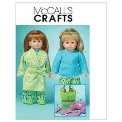 "McCall's 18"" Doll Clothes and Accessories Pattern M5019 Size OSZ"