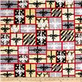 All That Glitters Metallic Gift Patch Red