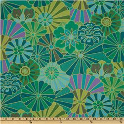 Kaffe Fassett Collective 2012 Radiation Green Fabric