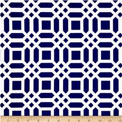 Riley Blake Home Decor Vivid Lattice Navy