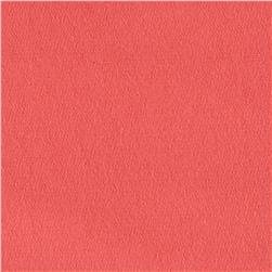 French Terry Solid Coral