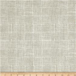 Maker Maker Linen Blend Grid Natural