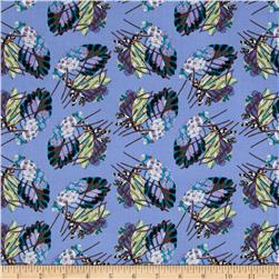 Benedictus Feather Navy Fabric