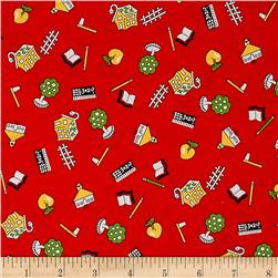 Kaufman My ABC Book Collage Red