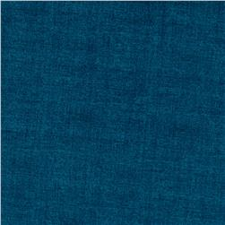Linen Texture Denim Blue