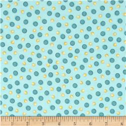 Whoo Me? Dots Blue