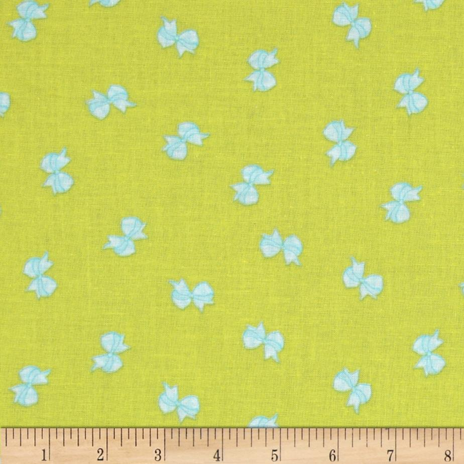 Michael Miller Cynthia Rowley Oh Baby Bows Citron