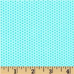 Moda Grow Pin Dots Truly Turquoise