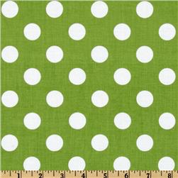 Riley Blake Dots Medium Green
