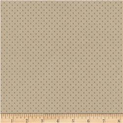 Timeless Treasures Wee Woodland Dots Tan