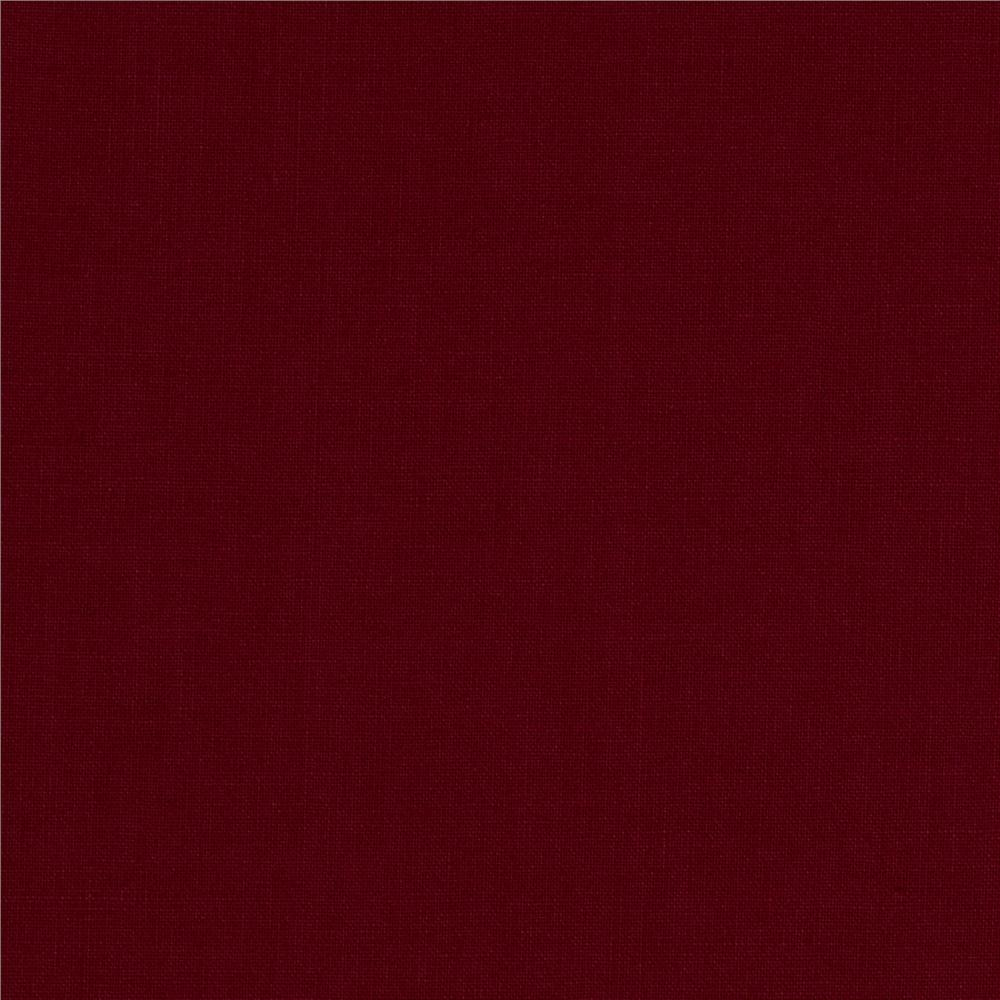 Michael Miller Cotton Couture Broadcloth Burgundy