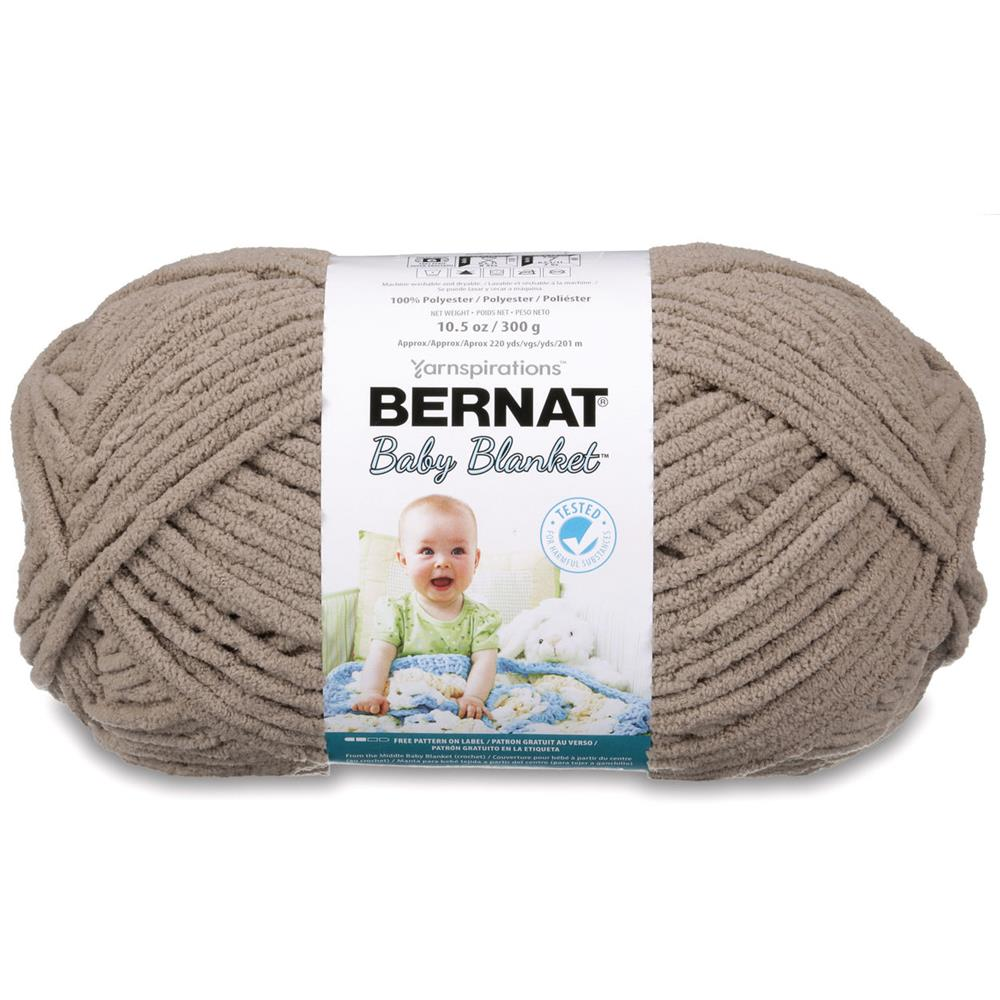 Bernat Baby Blanket  Big Ball Yarn (04010) Baby Sand