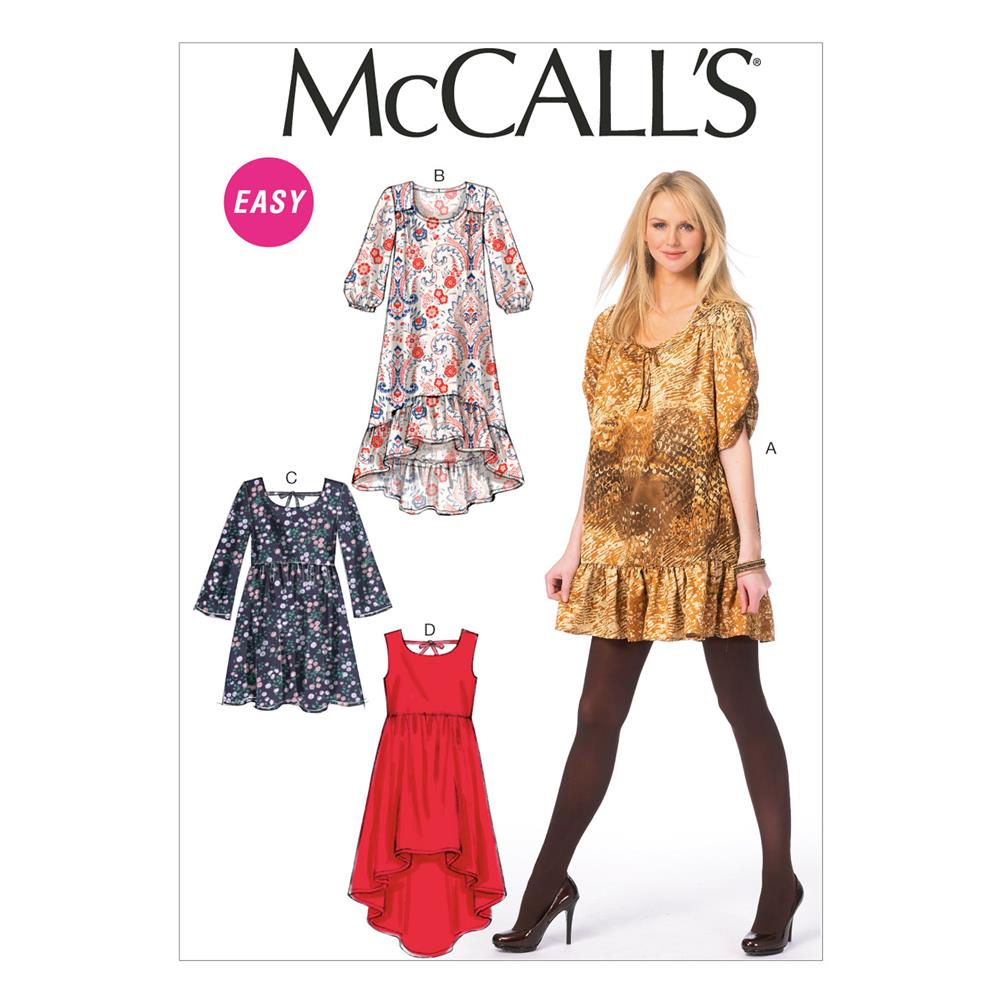 McCall's Misses' Dresses Pattern M6987 Size A50