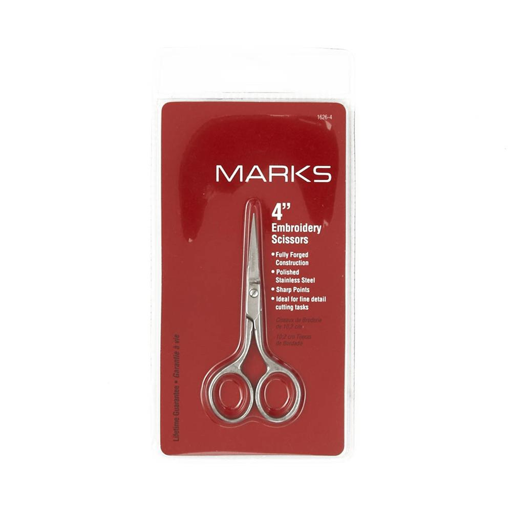 Marks Embroidery Scissors 4""