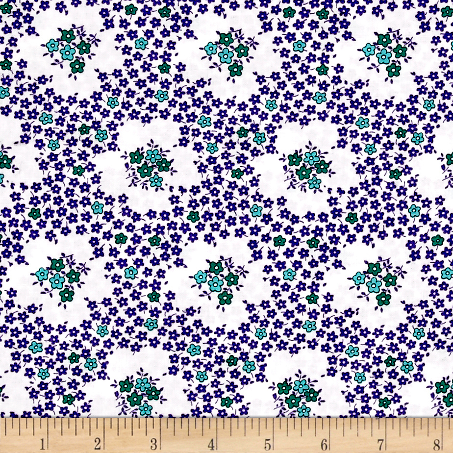 Image of Everything But The Kitchen Sink Teatime Wisteria Fabric