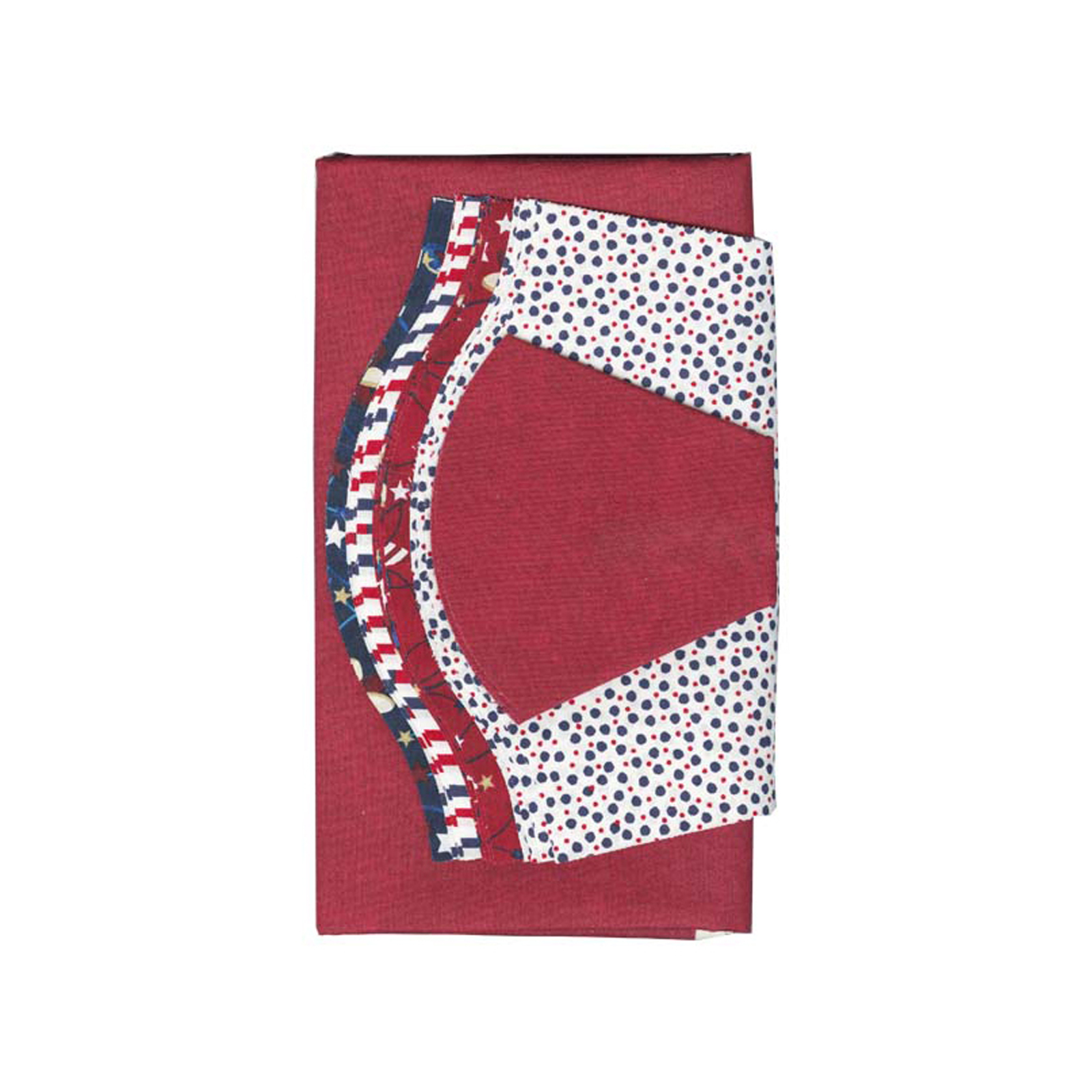 INOpets.com Anything for Pets Parents & Their Pets Fabric.com Patriotic Dresden Plate 40'' Kit Multi - Exclusive