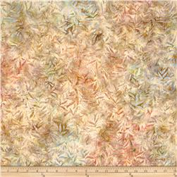 Artisan Batiks Grove Abstract Leaves Harvest Beige