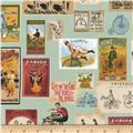 Kaufman Heirloom Diary Cards Antique