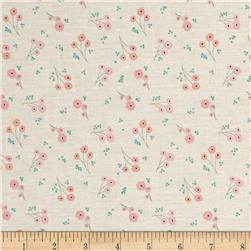 Riley Blake Ava Rose Flower Cream