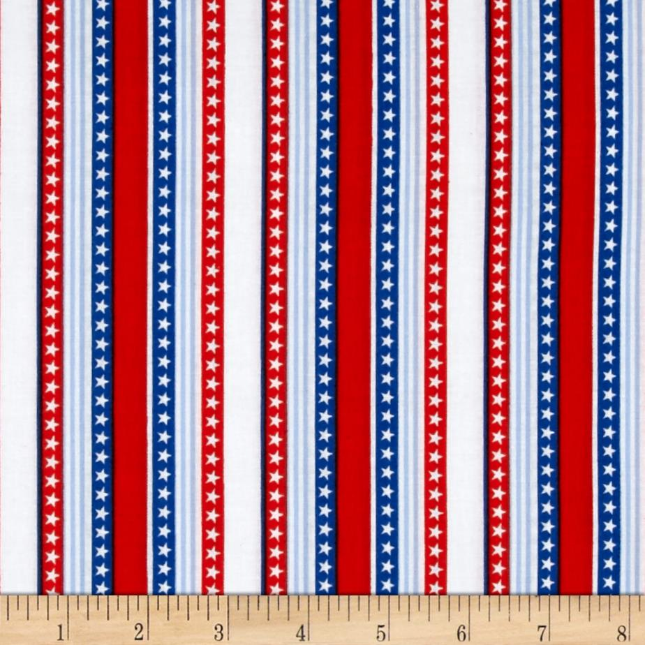 Stars And Stripes White