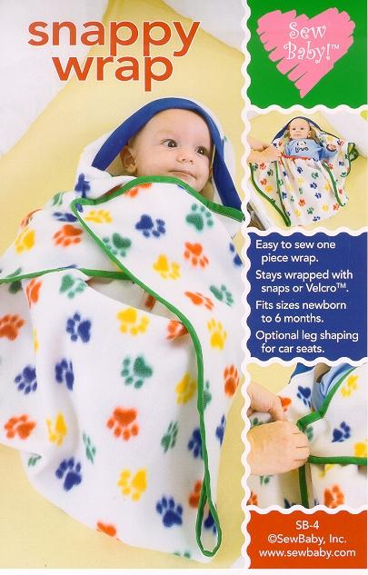 SewBaby! Snappy Wrap Pattern