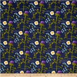 Outlander Flowers Blue