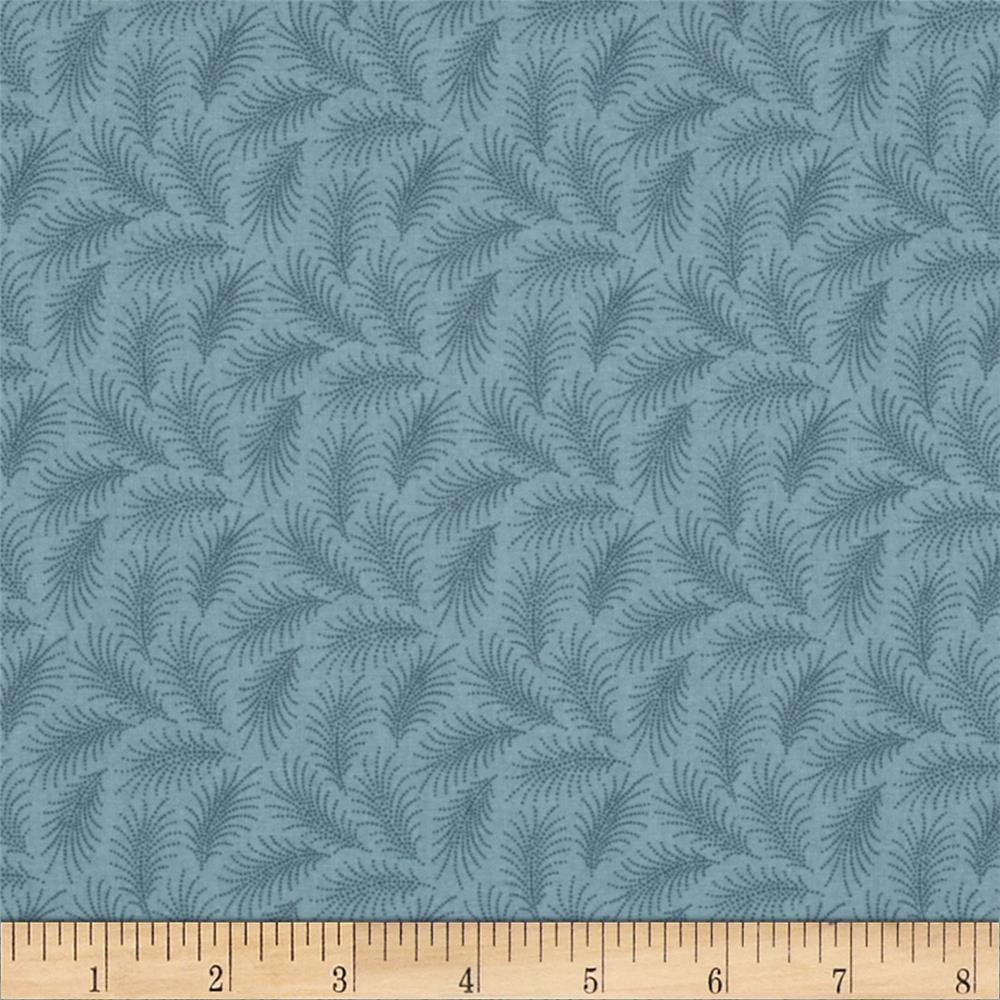 Downton Abbey Lady Sybil Small Branches Blue