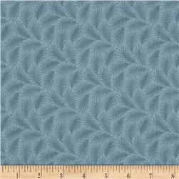 Downton Abbey Lady Sybil Small Branches Blue Fabric