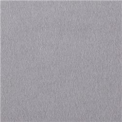 Solid Flannel Grey Fabric