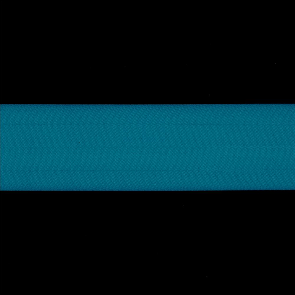 1 1/2'' Twill Tape Ribbon Turquoise