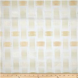 Waverly Sheers Ray of Light Metallic Pearl Fabric