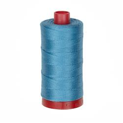 Aurifil 12wt Embellishment and Sashiko Dreams Thread Teal