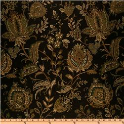 Eroica Aster Floral Jacquard Storm Fabric