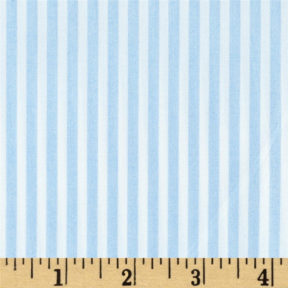 Telio Morocco Blues Stretch Poplin Baby/Blue/White
