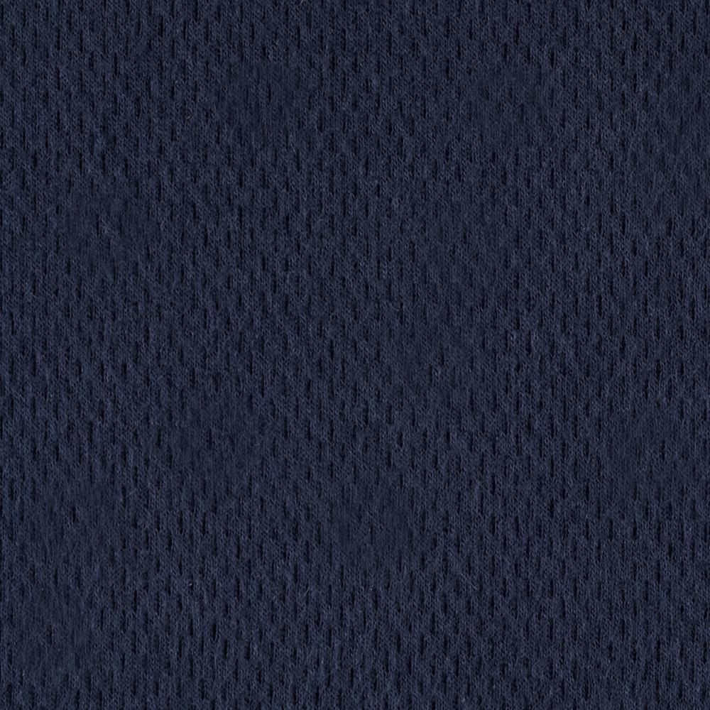 Lightweight Cotton Pique Double Knit Navy