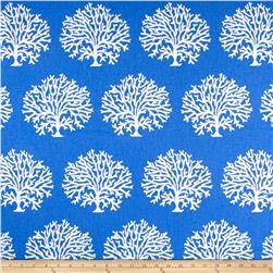 Golding by P Kaufmann Tree Coral Cobalt