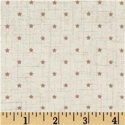 Scandi 3 Mini Star Linen/Tan
