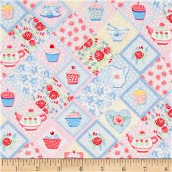 Tea Party Patchwork Tea Cups M