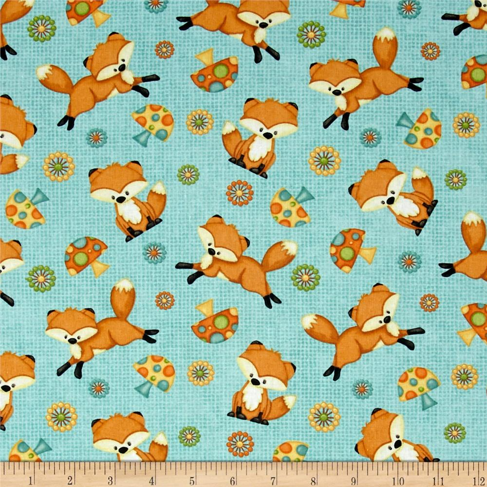 Hoot! Hoot! Hooray! Foxes Blue