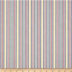Kaufman Classic Threads Medium Stripe Sorbet