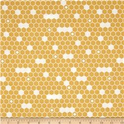 Riley Blake Fine & Dandy Hexi Yellow