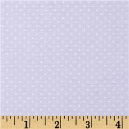 Sorbets Mini Dot Light Purple Fabric