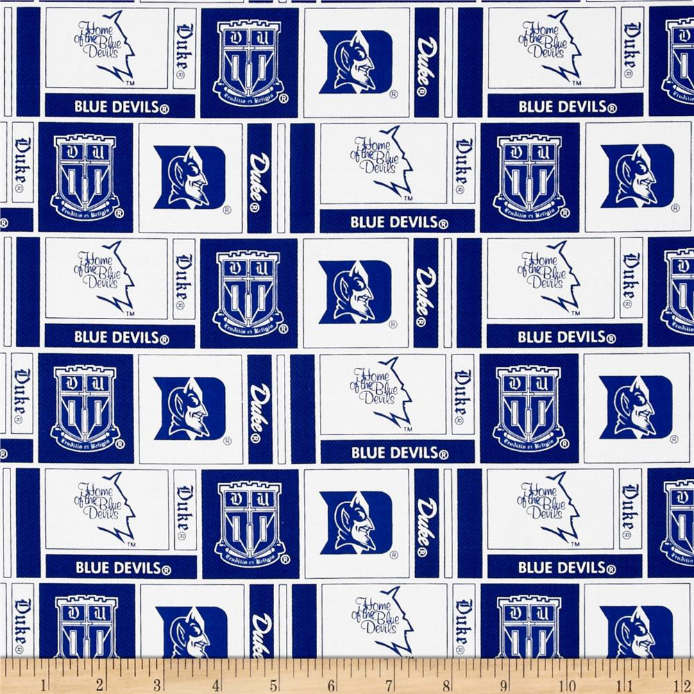 Collegiate Cotton Broadcloth Duke University