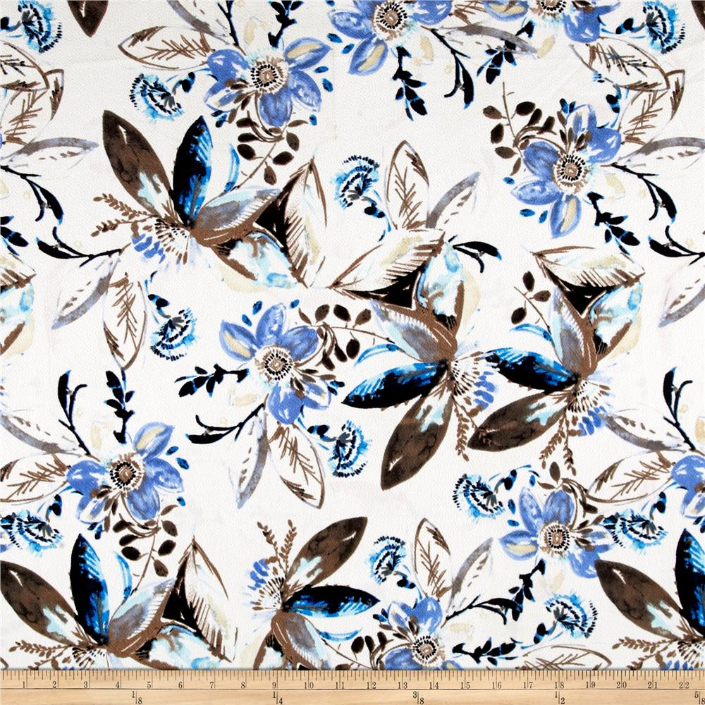 Liverpool Tropical Floral Taupe
