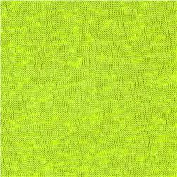 Stretch Tissue Slub Hatchi Knit Neon Yellow