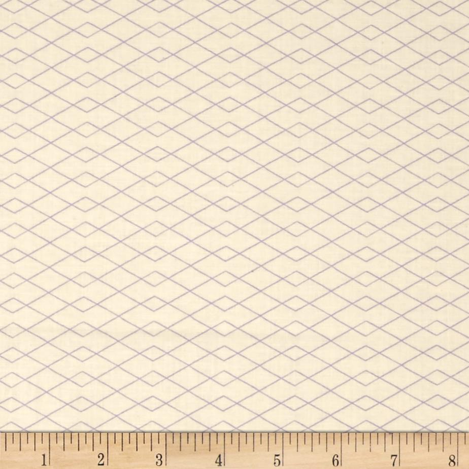 Kaleidoscope Diamond Grid Lilac