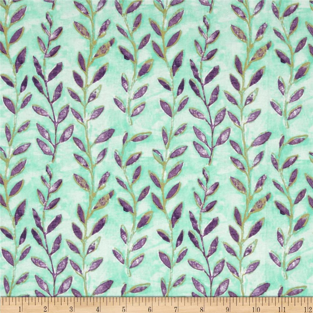 Meadowlark Vines Seafoam