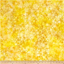 Wilmington Batiks Bubbles Allover Yellow